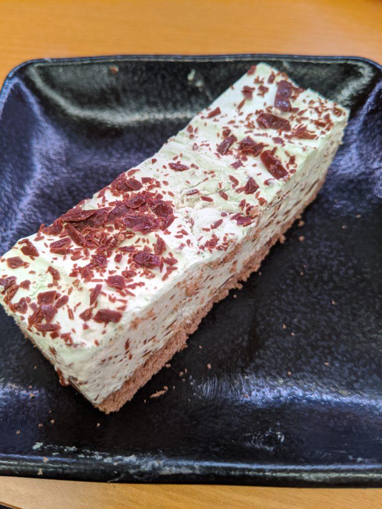 スシロー チョコミントアイスケーキ